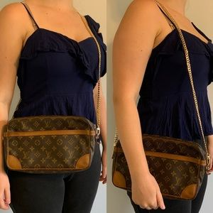 Louis Vuitton Compiegne 28 Monogram Crossbody Bag